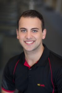 Stephan Panagos Physiotherapist and Student Co-ordinator