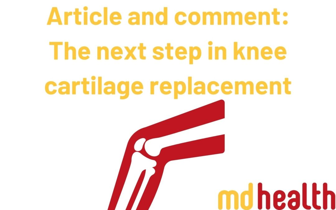 Article and comment The next step in knee cartilage replacement