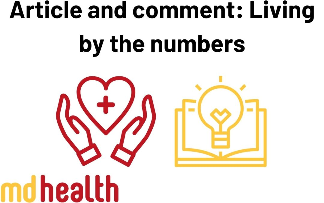 Article and comment: living by the numbers